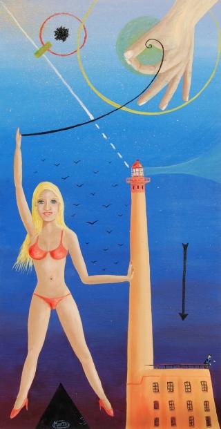 La blonde du phare