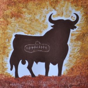 OmorO - 4animal-eternel - 2016 - Pigments naturels sur papier - 24x24 cm