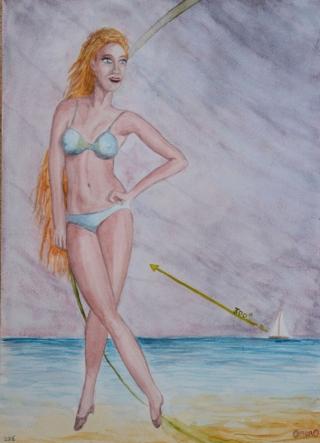 2016q15 - Femme de Marin 300-(L)