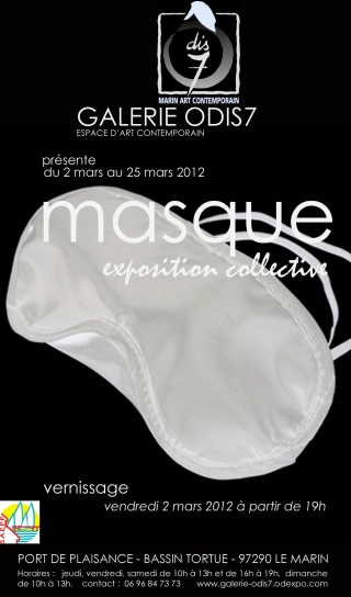 masque, exposition collective (Galerie Odis7)
