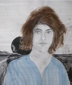 Premier autoportrait – 1976