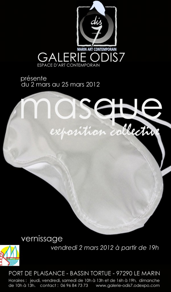 Affiche Expo Masque