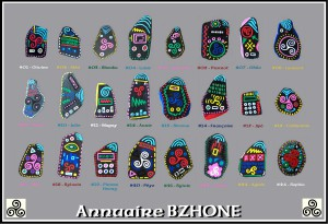 OmorO - Annuaire BZHONE  - Objets Cultes - 2012