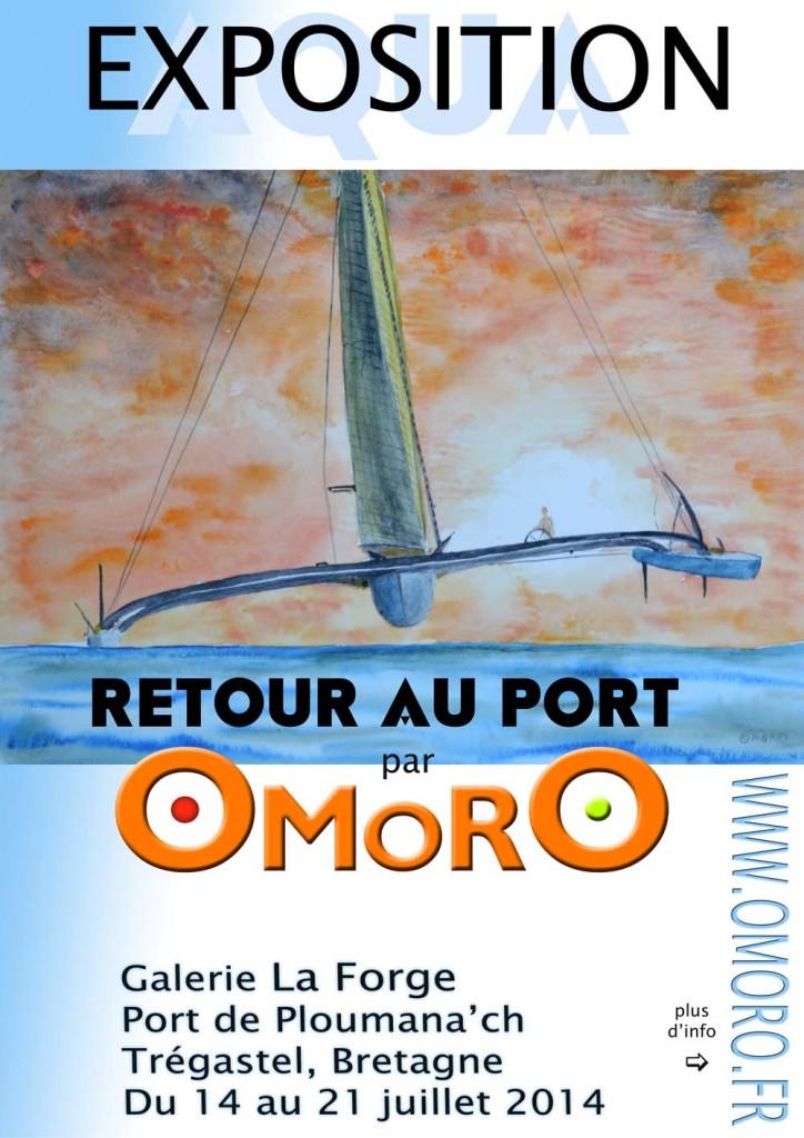 Affiche Expo Retour au Port - 1000