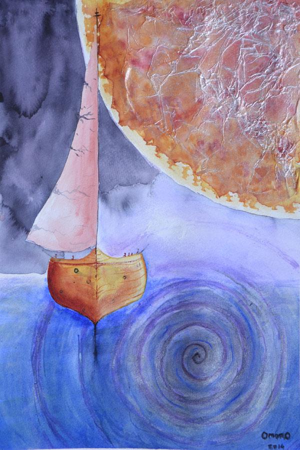 OmorO - Entre Jupiter et le Vortex - 2014