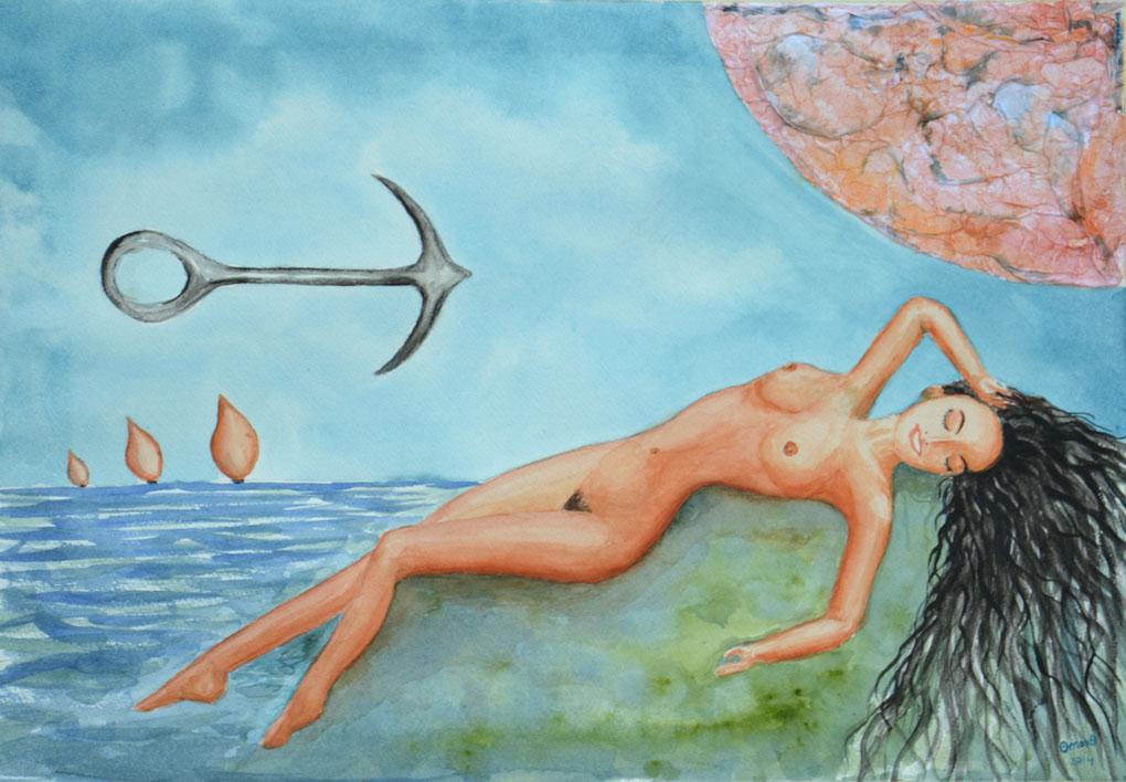 OmorO - L'ancre volante - 2014