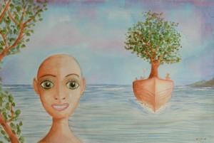 Bateau arbre