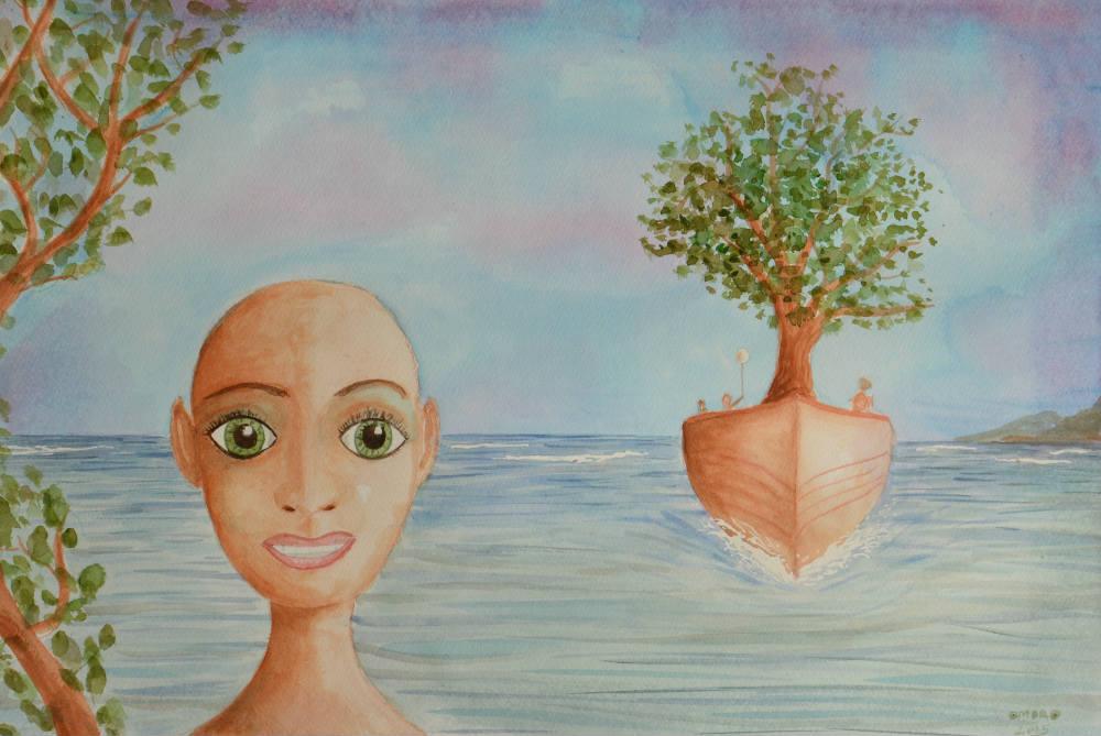 OmorO - Bateau arbre - 2015