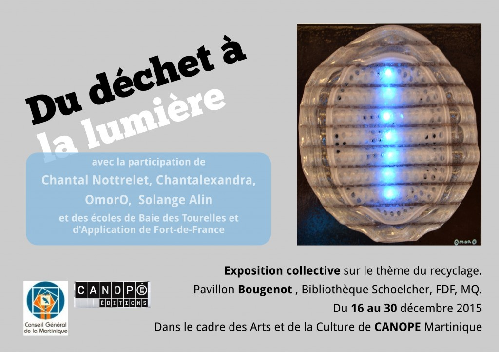 Invitation expo Dechet-lumiere