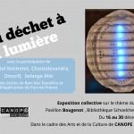 Exposition «Du déchet à la lumière»