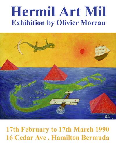 OmorO - Exposition Hermil Art Mill - Bermuda - 1990