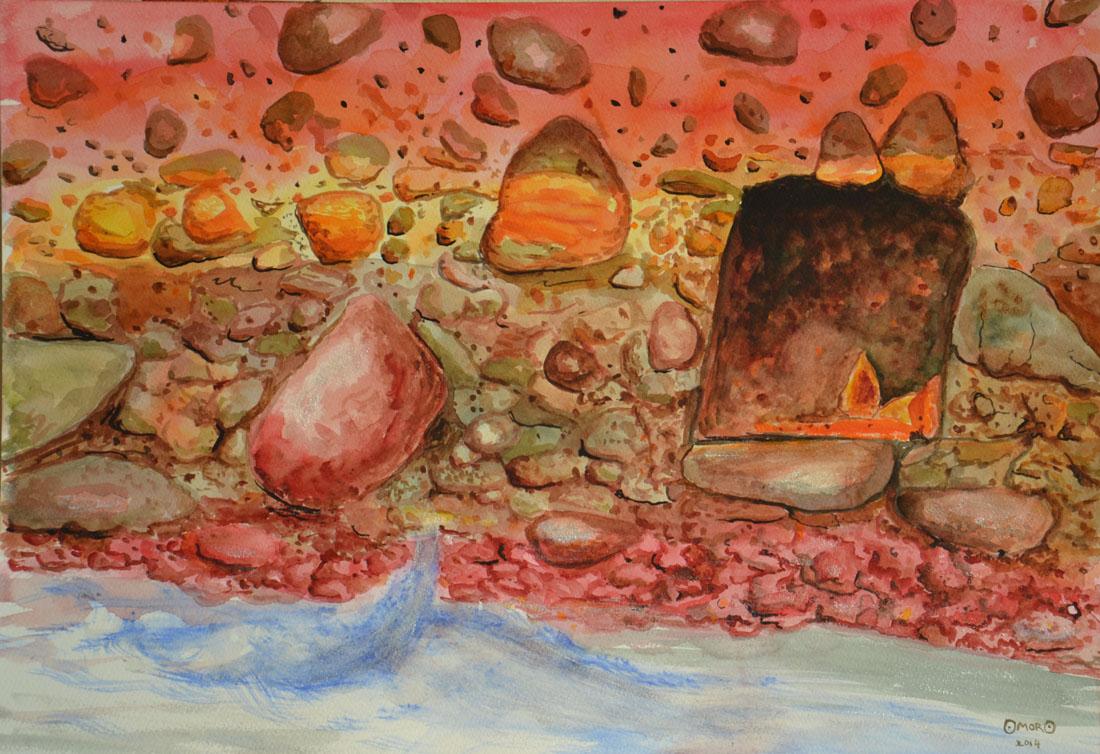 OmorO - Cavité naturelle - 2014